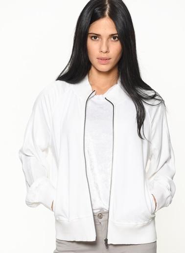Braez Ceket Beyaz